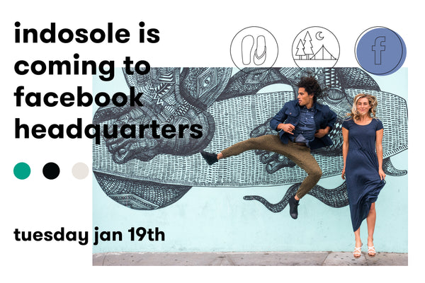 Indosole is coming to Facebook HQ!
