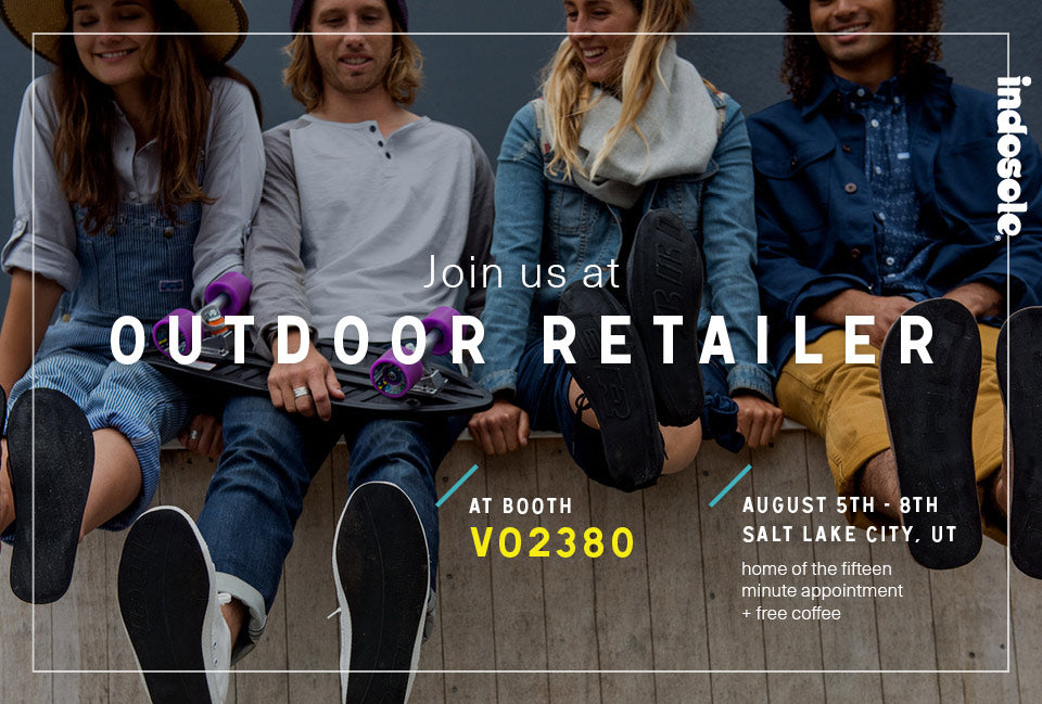 indosole at outdoor retailer