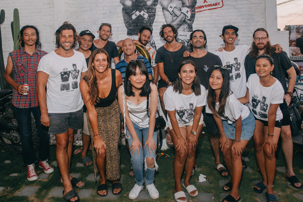 Indosole Team at Indosole in Bali Indonesia, 2019