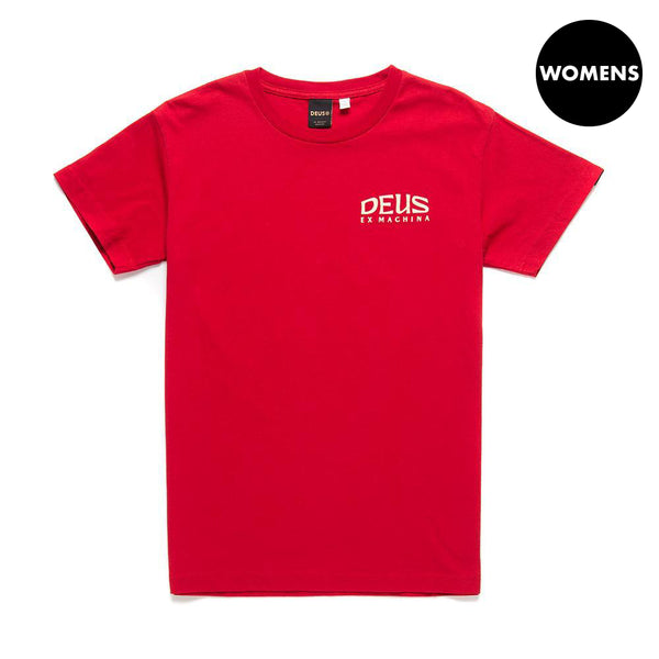 Enthusiasm Tee - Chilli Red
