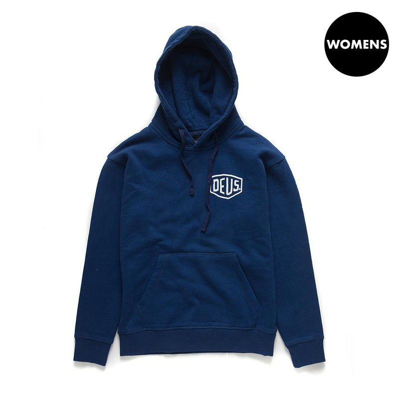 Ladies Milan Garage Hoodie - Estate Blue