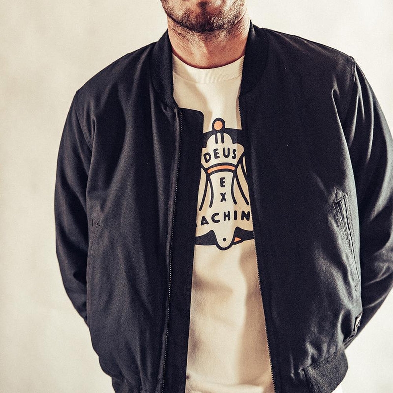 Buzz Bomber Jacket - Black