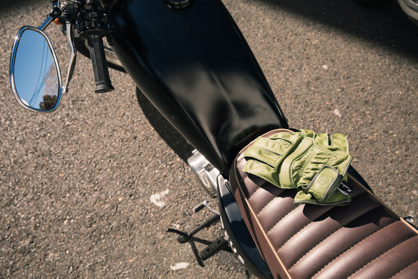 Deus Gripping Gloves - Khaki