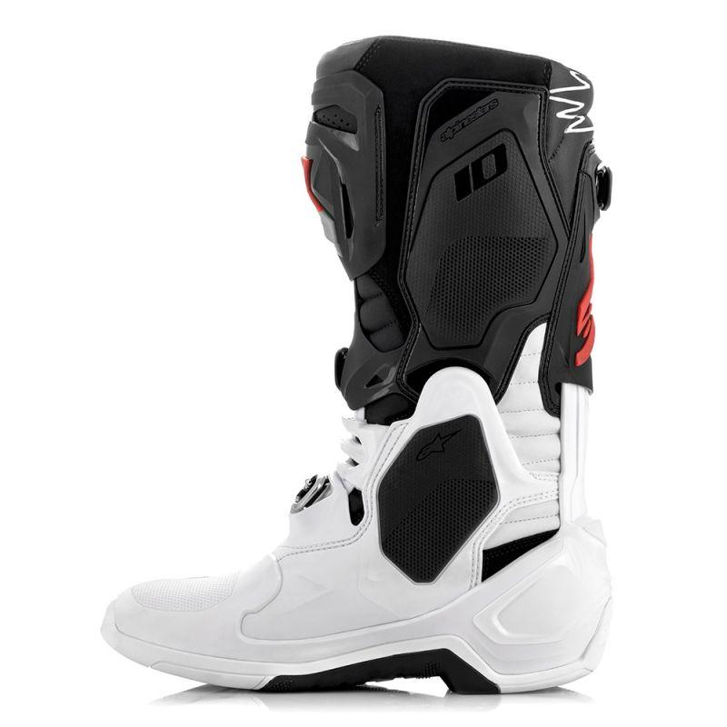 Tech 10 Boots - Black / White / Red