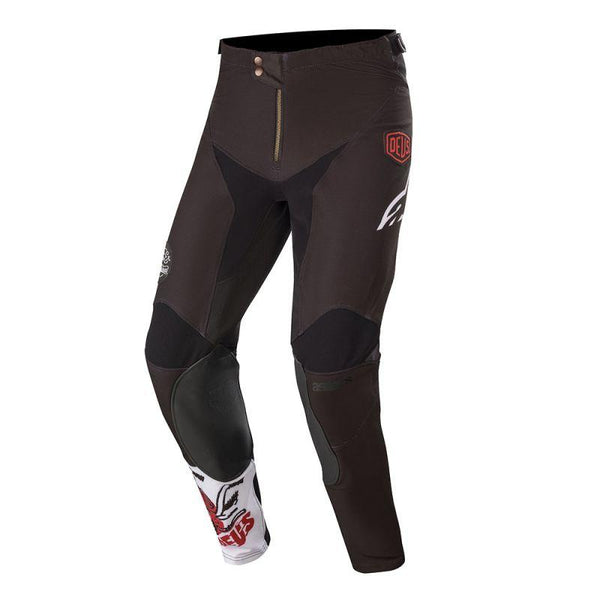 Radar Tech Pant - Black / White / Deep Red