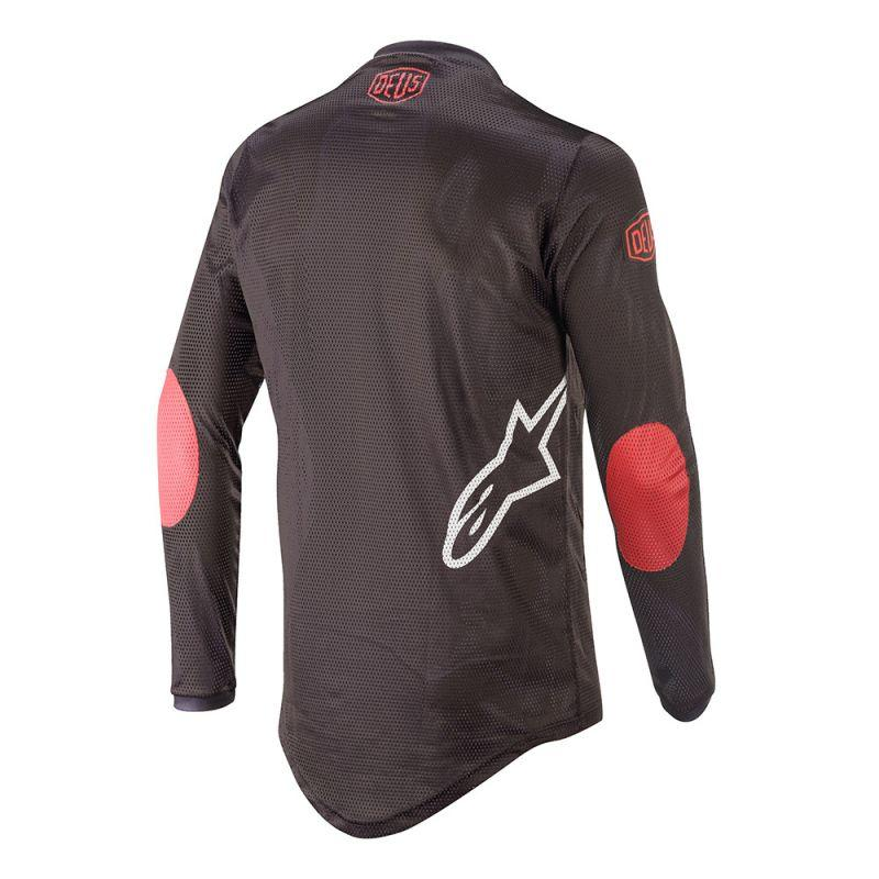 Radar Tech Jersey - Black / Deep Red