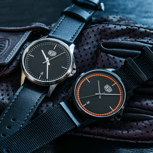 Lincoln LH Watch - Black / Black