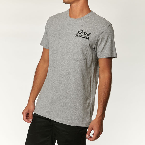 Venice Tee - Athletic Grey