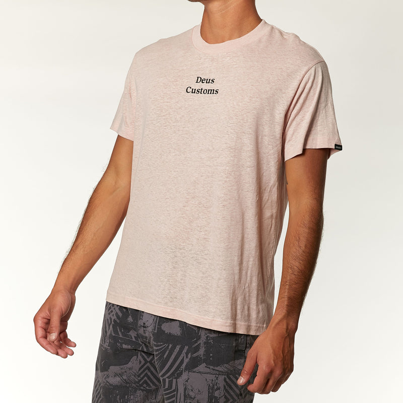 Bordeaux Tee - Dusty Pink