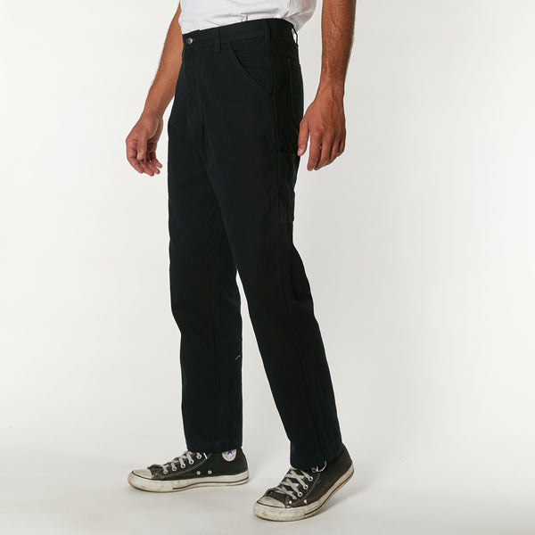 Jack Canvas Mech Pant - Black