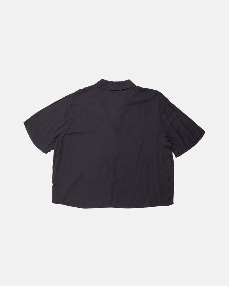 Donna Cropped Shirt - Black