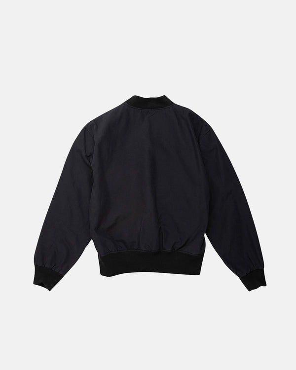 Flight Bomber Jacket - Black