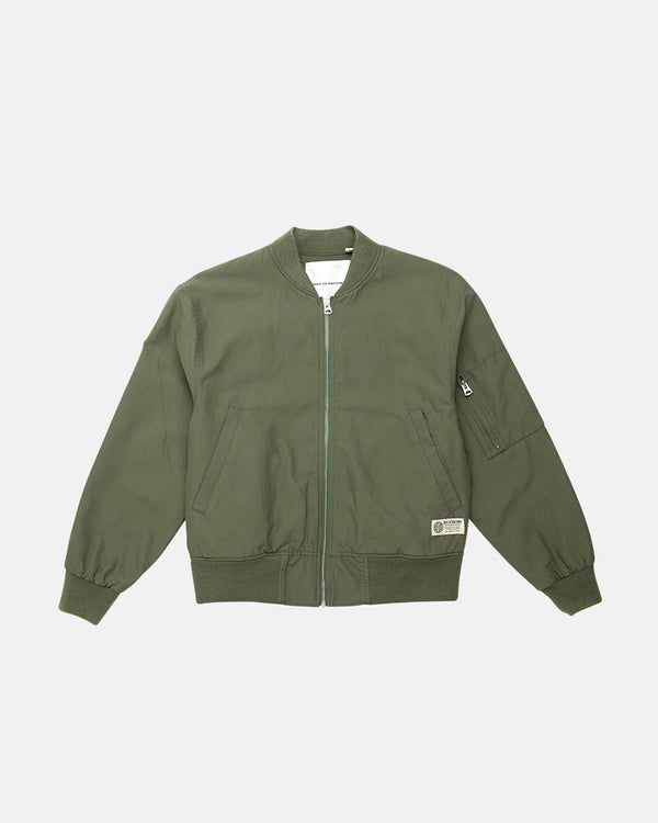 Flight Bomber Jacket - Clover