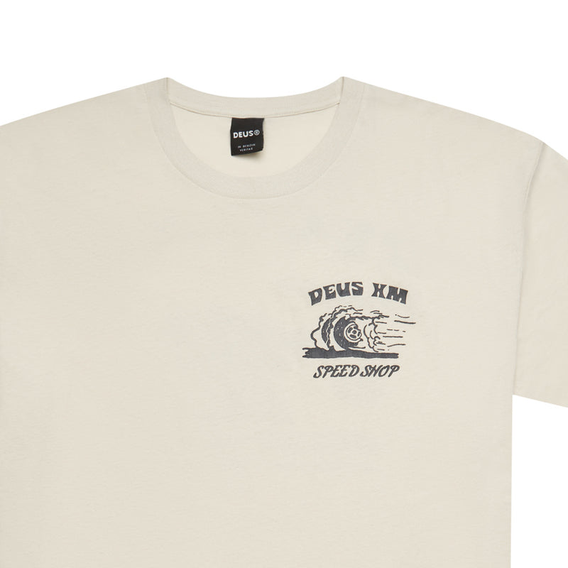 Colden Clouds Tee - Dirty White