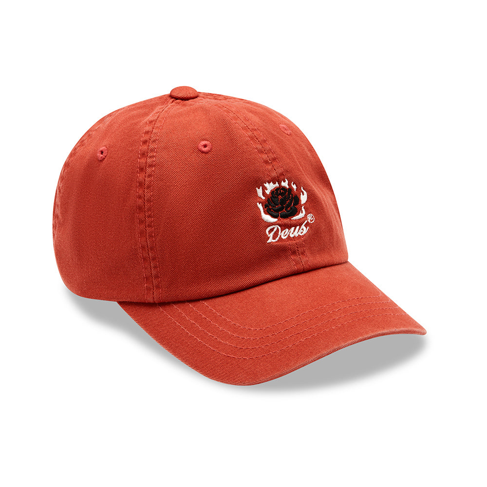 Burning Rose Cap