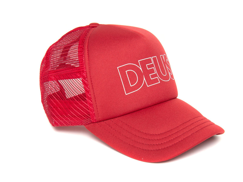 Capper Trucker - Dark Red
