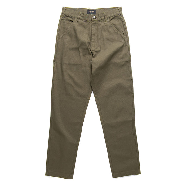 Jack Canvas Mech Pant - Dark Olive