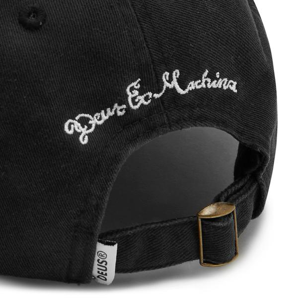 Classic Dad Temple Cap - Black