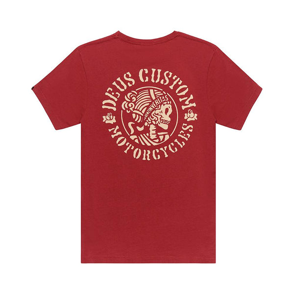 Gentre Tee - Chilli Red