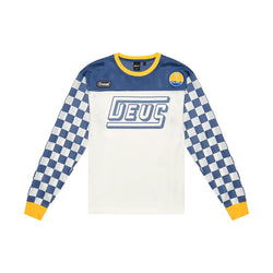 Chex Moto Jersey - Dusty Blue