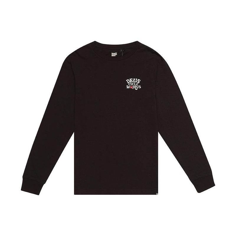 Shaman Long Sleeve Tee - BLACK