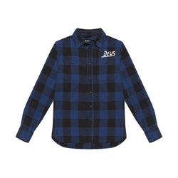Service Check Shirt - DENIM BLUE