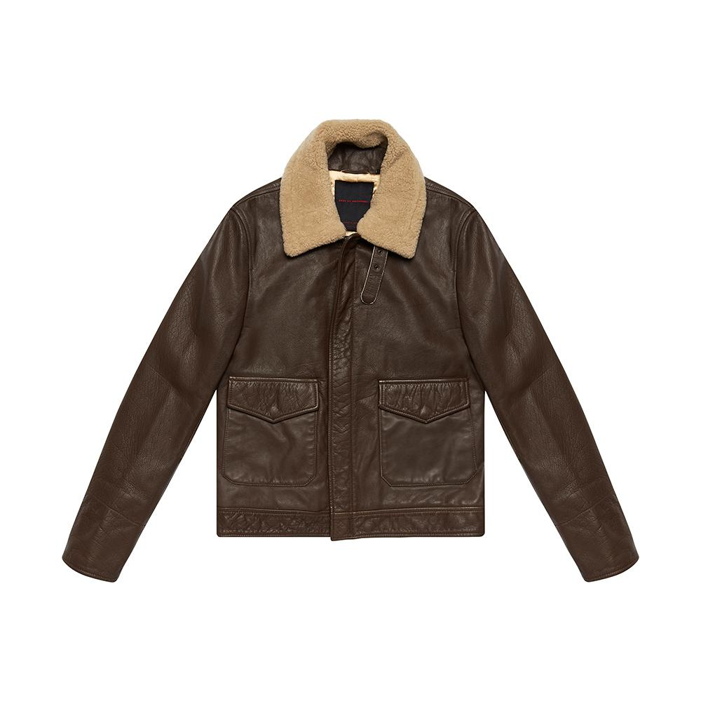The Greaser Jacket - ROCA BROWN