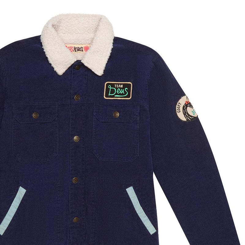 Goofy Cord Jacket - ESTATE BLUE
