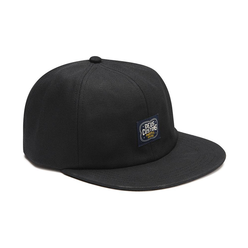 Manx Canvas Cap - Black