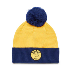 Paul McNeil Smile Beanie - SUPER LEMON