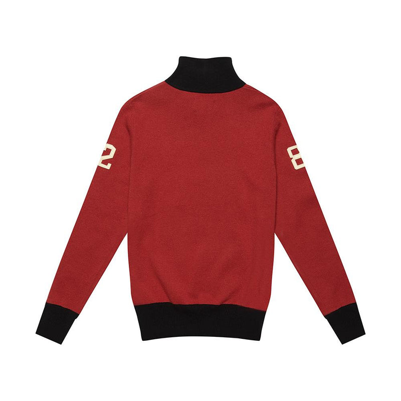 Revolution Knit - CHILLI RED