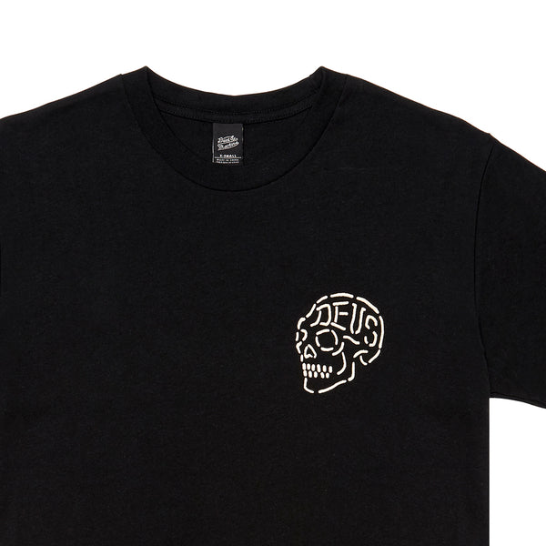 LA Address Skull - Black