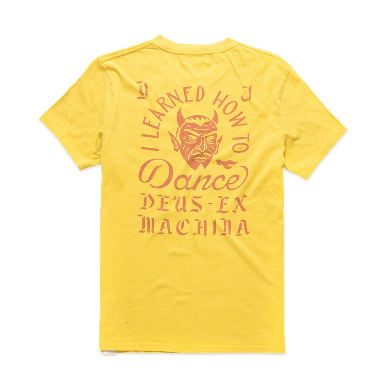 Dancing Devil Tee - Mimosa Gold