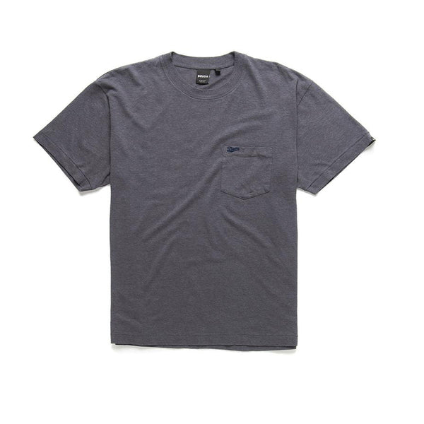 Hemp Pocket Tee - Phantom Black