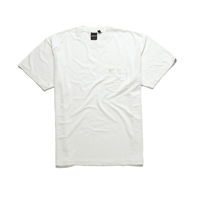 Hemp Pocket Tee - Vintage White