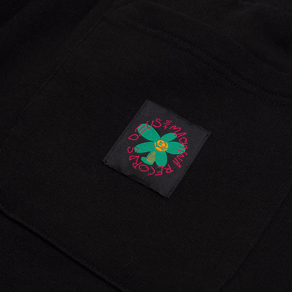 Records Fleece Pant - Black