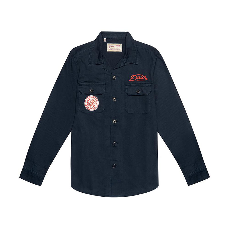 Sea Squalor Shirt - Navy