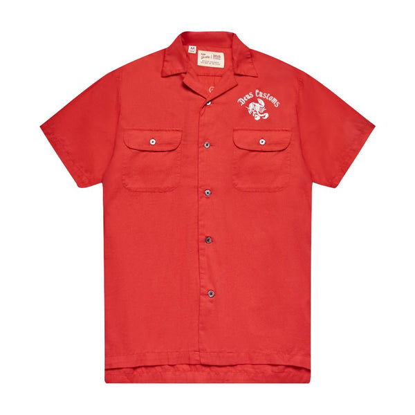 Smile Back Shirt - Red Molten