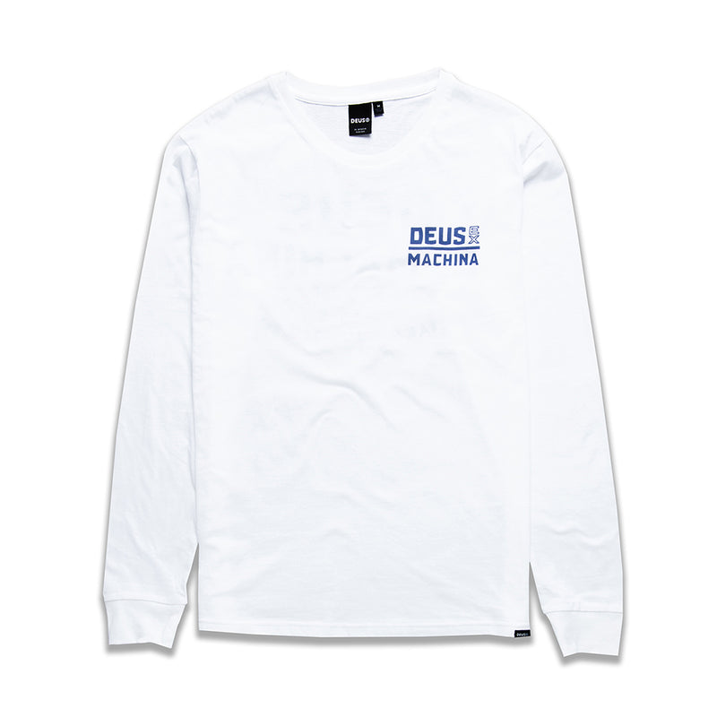 Thembi Long Sleeve Tee - White