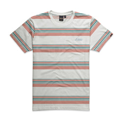 Griffin Stripe Tee - White Combo