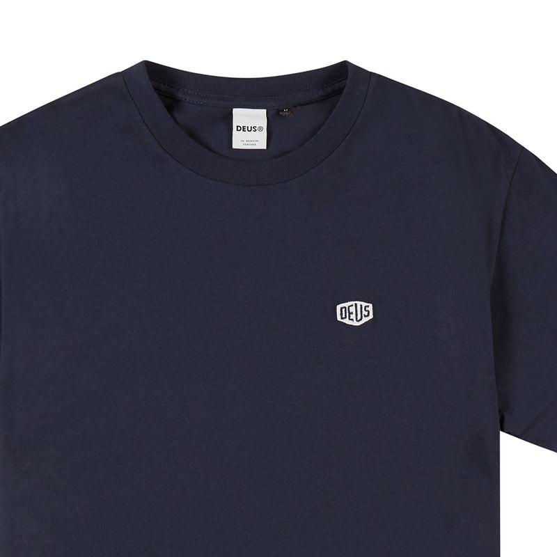 Steve Shield Tee - Navy