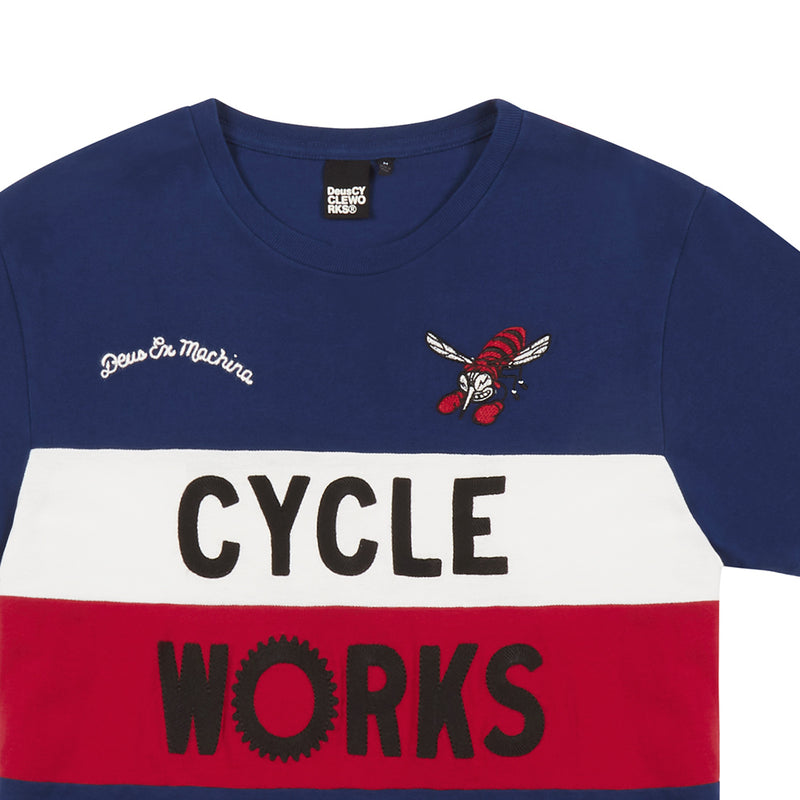 Valence Cw Tee - Red / Blue
