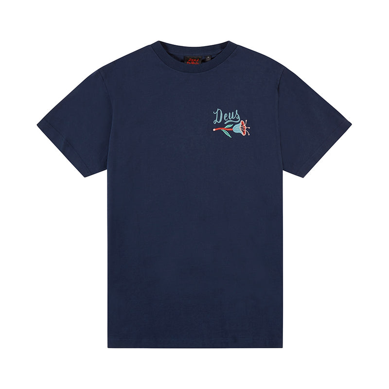 Bjorn Camperdown Tee - Navy