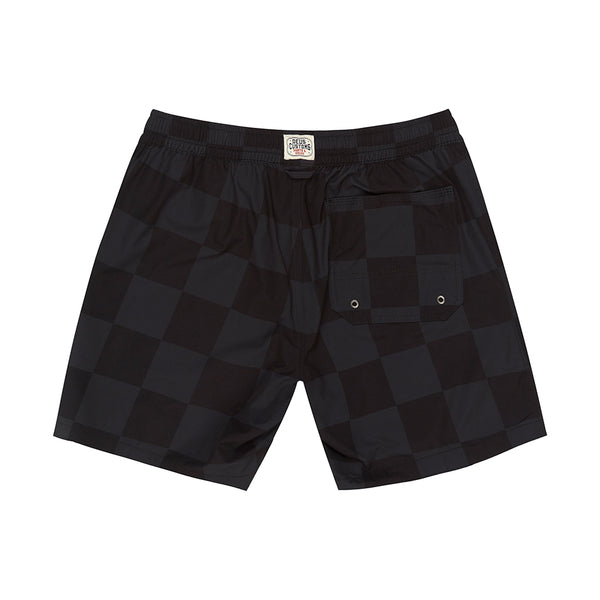 Sandbar Travellers Check Swimshort - Grey Check