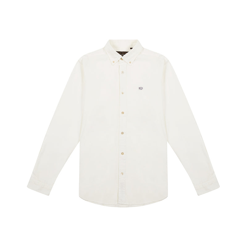 Terry Shield Shirt - Vintage White