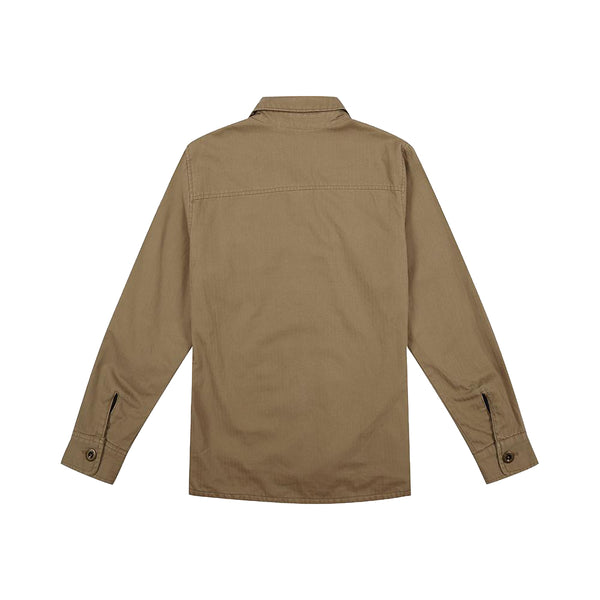The Troop Over Shirt - Tobacco