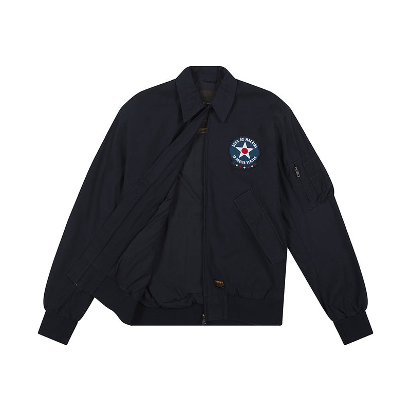 Hover Flight Jacket - Navy