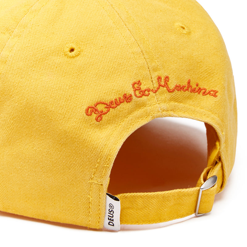 Records Smile Cap - Bright Yellow