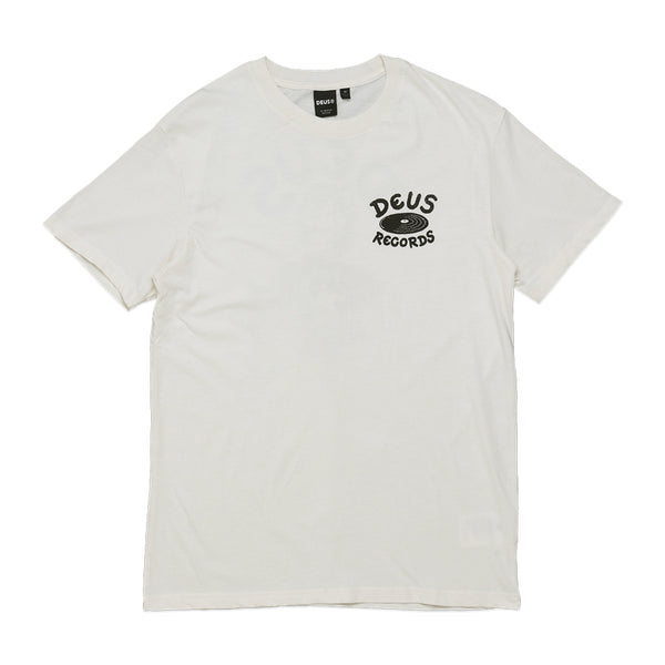 Scratch Tracks Tee - Dirty White