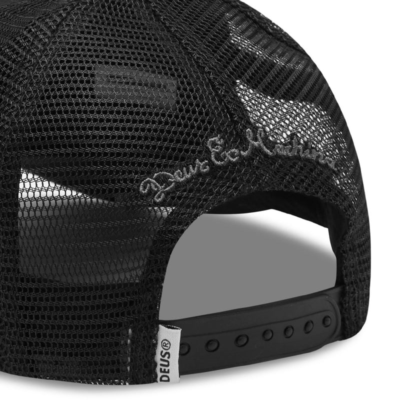 Woven Shield Trucker - Phantom Black
